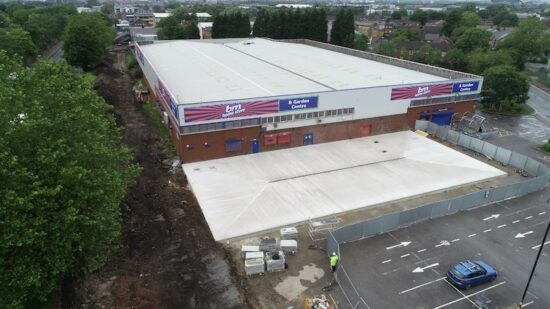 B&M Retail Ltd. During the Construciton
