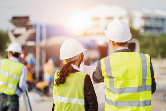 Male and Female Site Surveyors