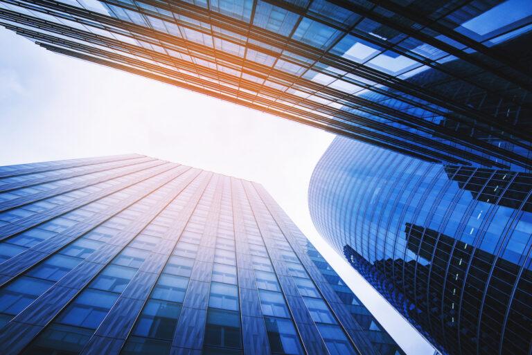 Abstract Skyscraper Buildings